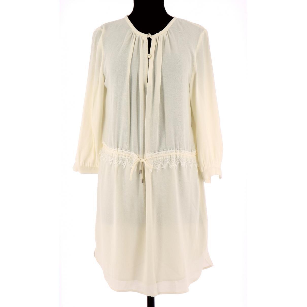 Sessun \N Kleid in  Beige Polyester