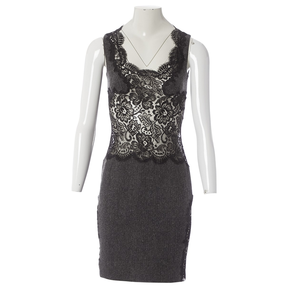Dolce & Gabbana \N Grey Wool dress for Women 40 IT