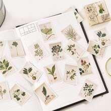 1pack Plants Print Sticker