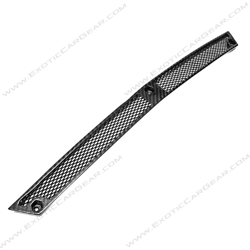 Exotic Car Gear ECG-LAM-GAFGCI Carbon Fiber Front Bumper Lower Grill Center Insert Lamborghini Gallardo