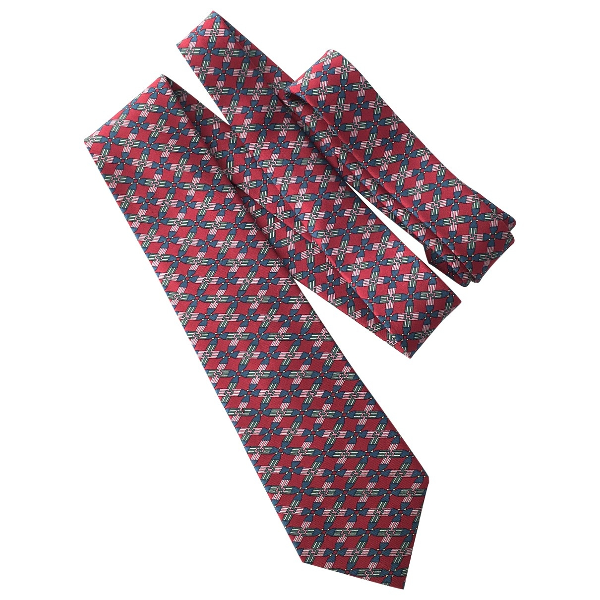 Hermès \N Multicolour Silk Ties for Men \N