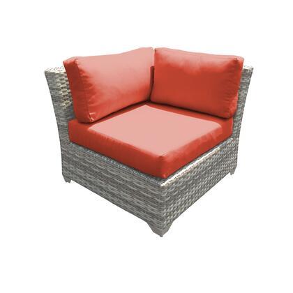 TKC045b-CS-DB-TANGERINE Fairmont Corner Sofa 2 Per Box with 2 Covers: Beige and
