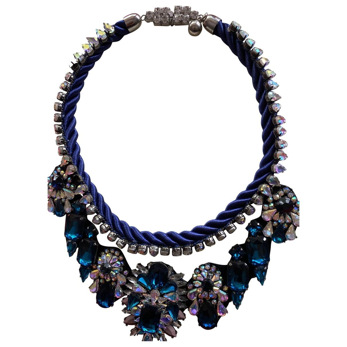 Shourouk - Collier   pour femme en cristal - violet