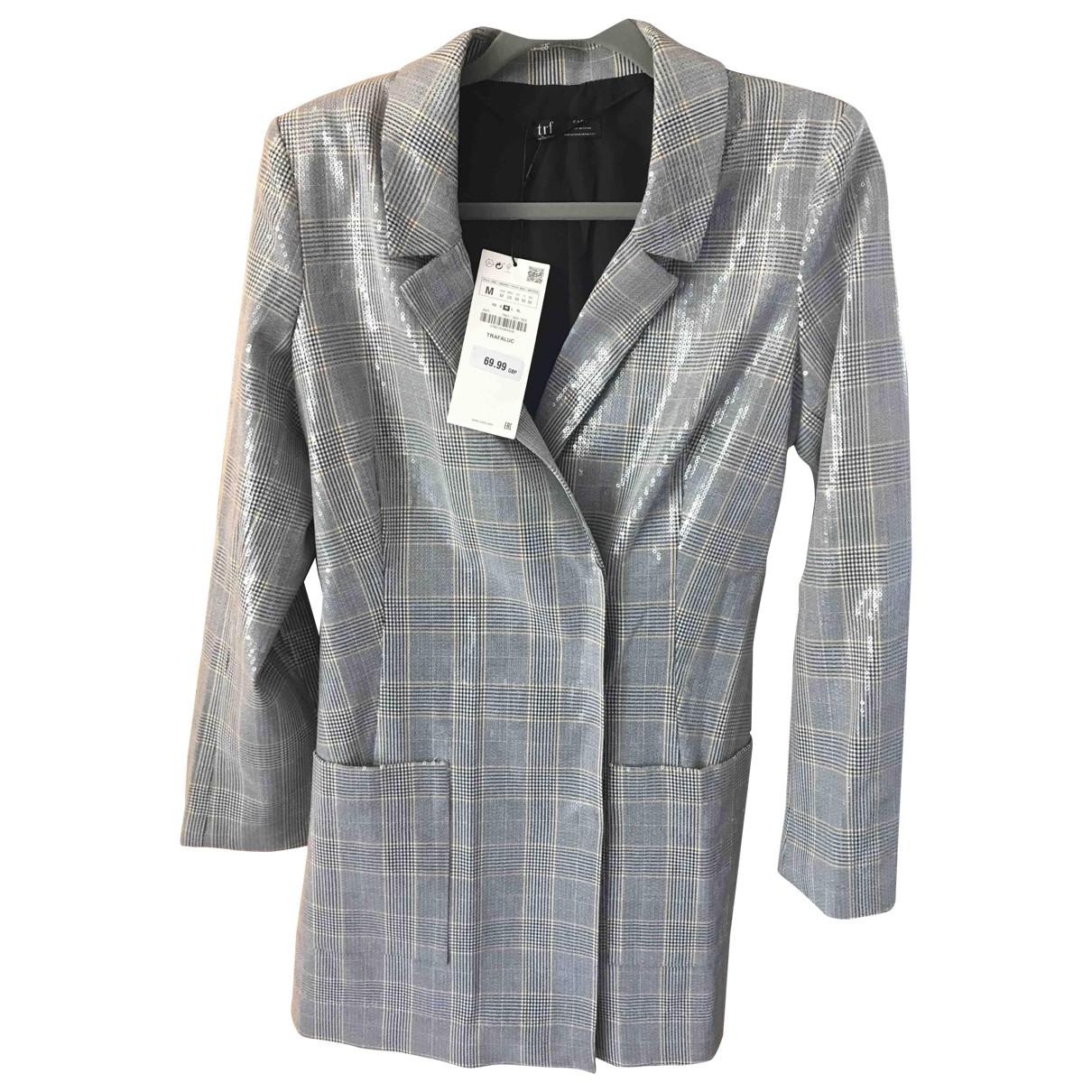 Zara \N Silver Glitter jacket for Women M International