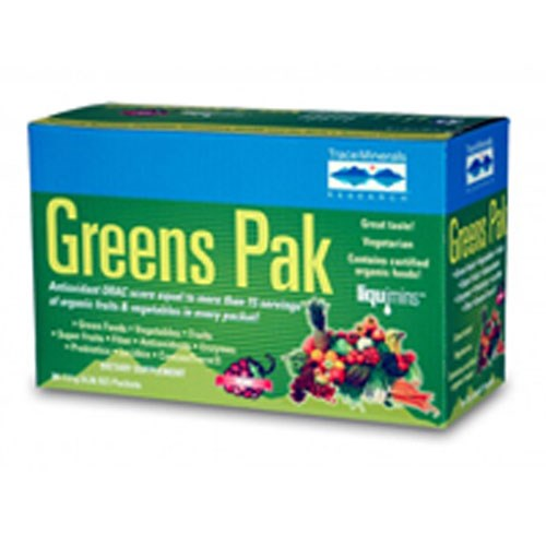 Greens Pak Berry 30 paks by Trace Minerals