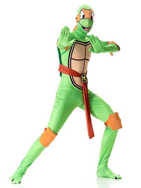 Milanoo Teenage Mutant Ninja Turtles Costume Halloween Men Outfit
