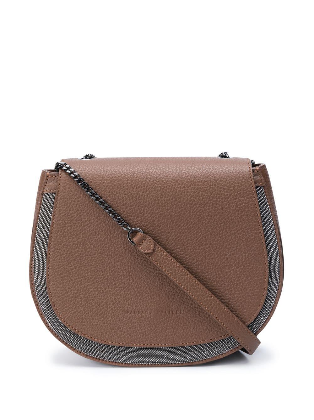Adriana Leather Crossbody Bag