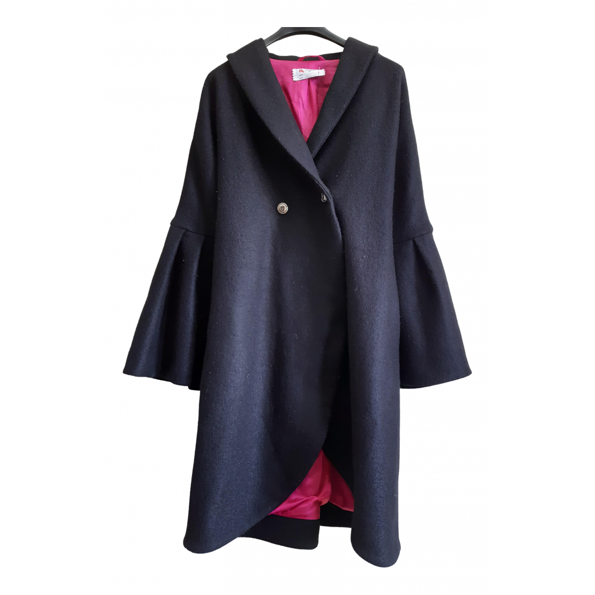 Cycle \N Black Wool coat for Women M International