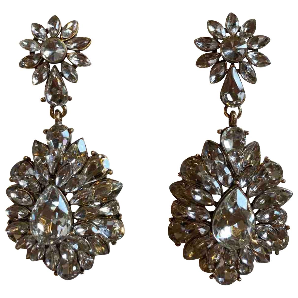 Zara - Boucles doreilles   pour femme en acier - argente