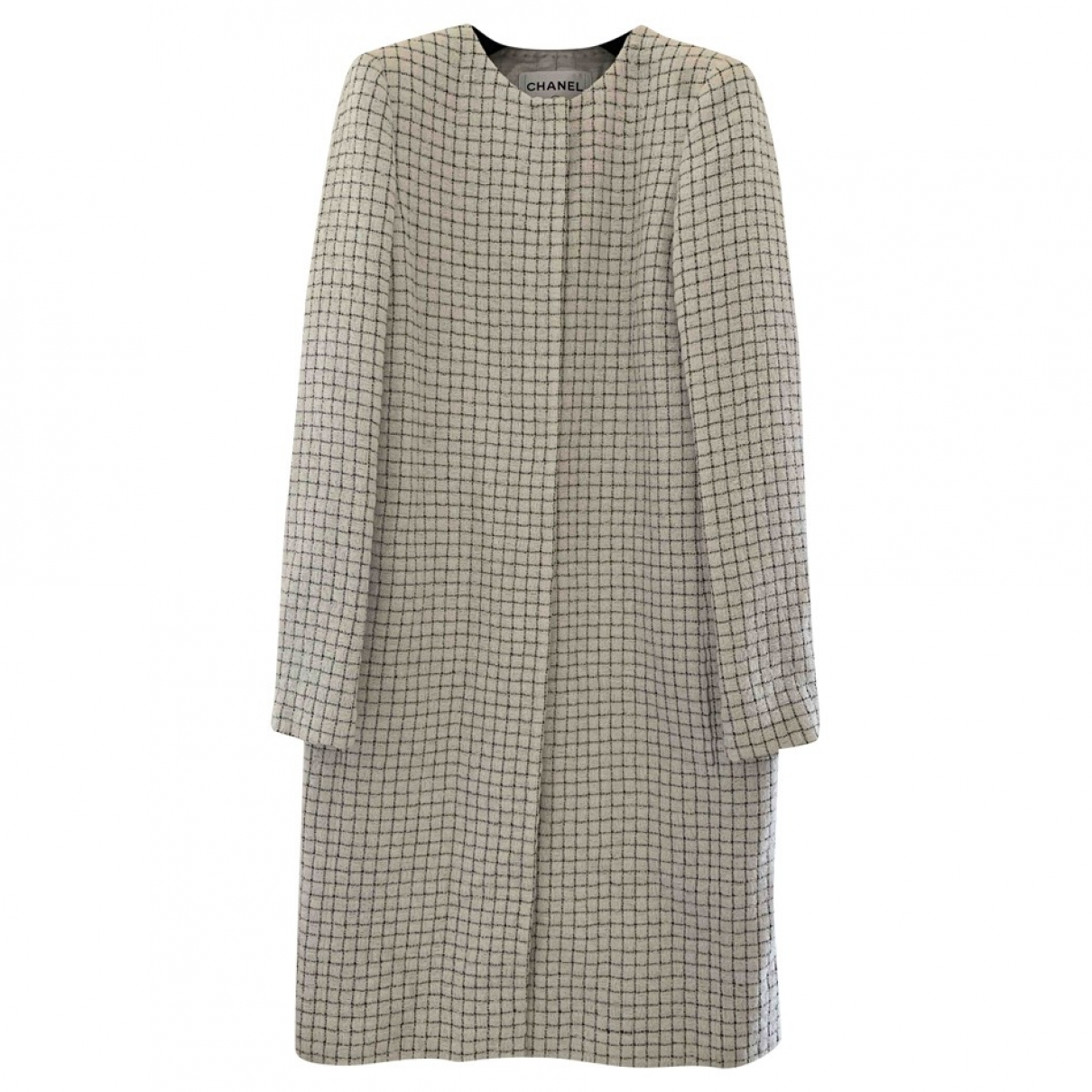 Chanel - Manteau   pour femme - blanc