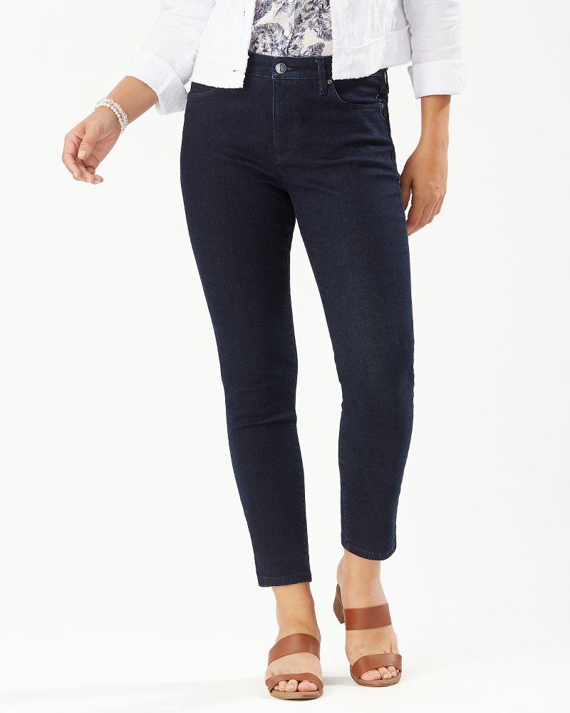 Boracay Indigo High-Rise Ankle Jeans