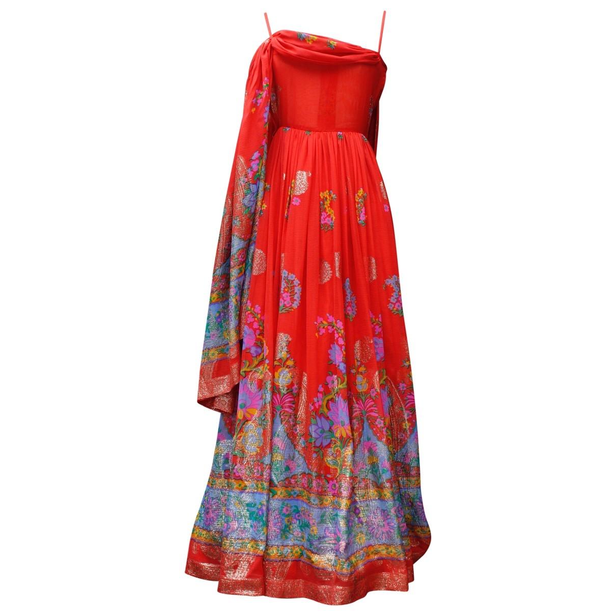 Lanvin \N Red Silk dress for Women 36 FR