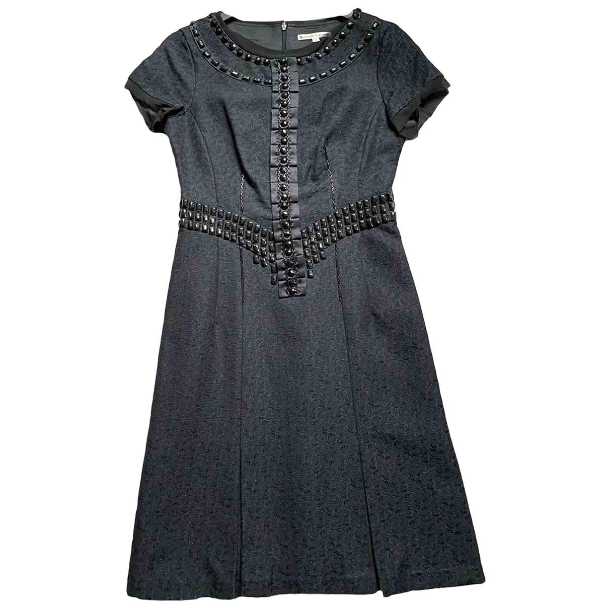 Nanette Lepore \N Kleid in  Schwarz Baumwolle