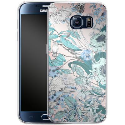 Samsung Galaxy S6 Silikon Handyhuelle - Make Me Blush von Stephanie Breeze