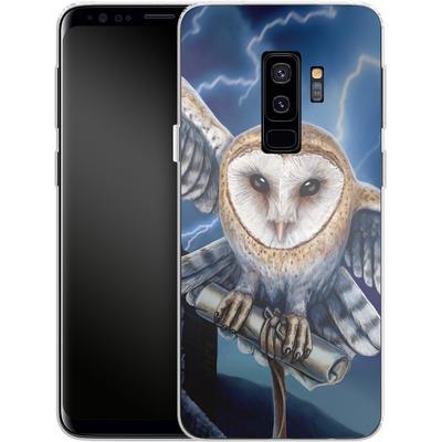 Samsung Galaxy S9 Plus Silikon Handyhuelle - Heart of The Storm von Lisa Parker