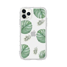 1 Stueck iPhone Schutzhuelle mit Blatt Muster