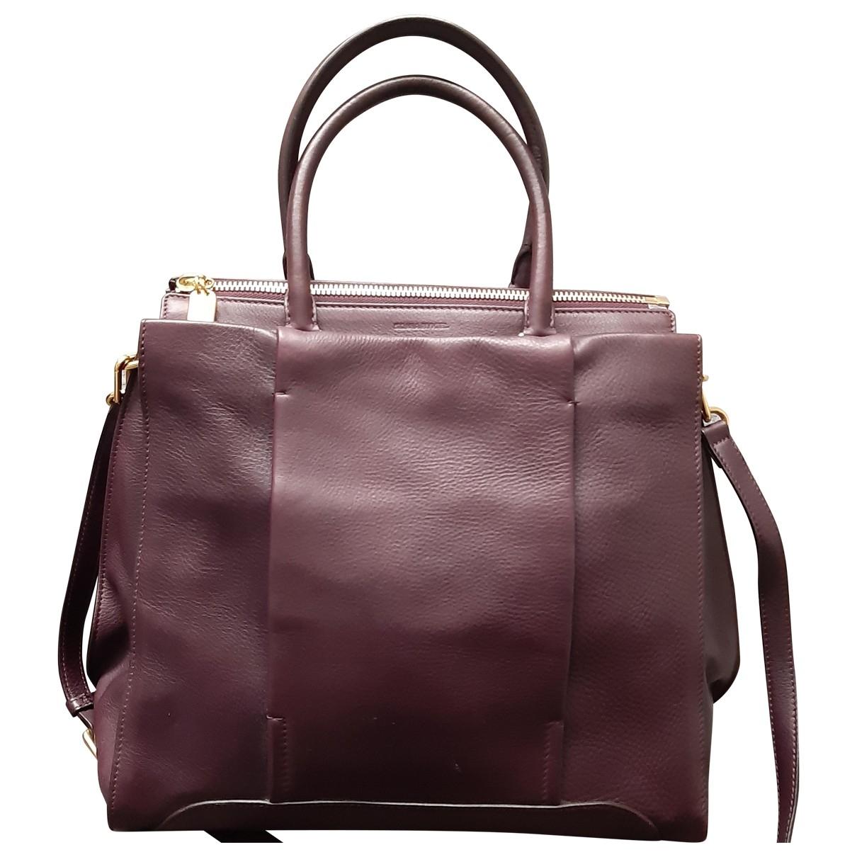 Sonia Rykiel \N Burgundy Leather handbag for Women \N