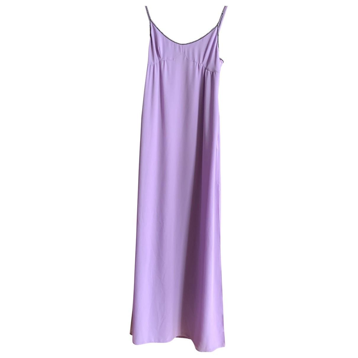 Philosophy Di Lorenzo Serafini \N Purple dress for Women 42 FR