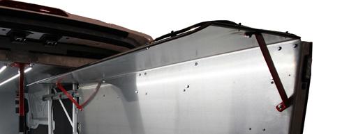 CargoGlide WPC462 WallSlide Wall Shelving Canopy Option for WSS462