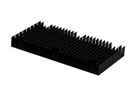 SPREADFAST Heatsink, 1/1 Brick DC/DC Converter, 120 x 62 x 14mm, Black