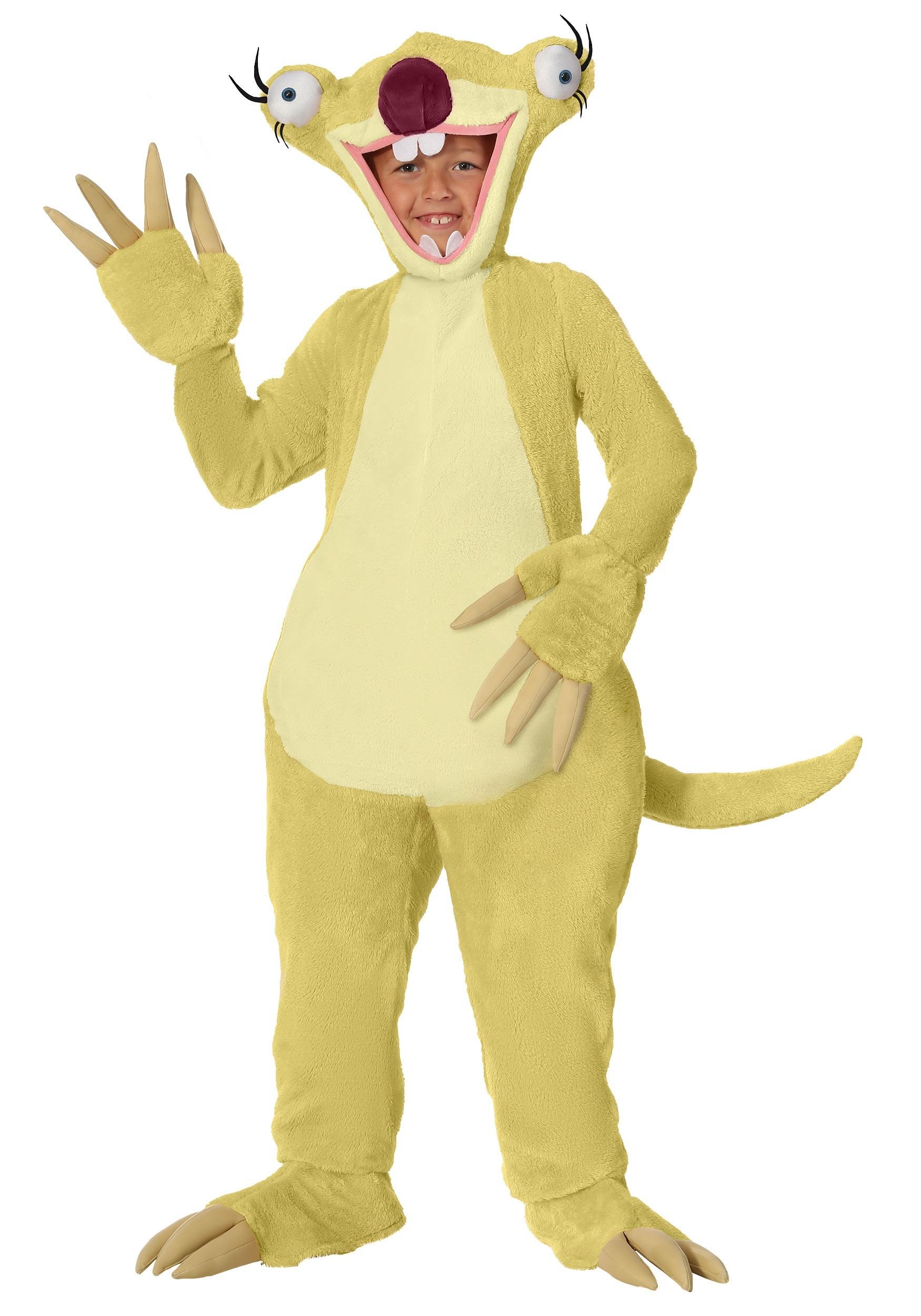Ice Age Sid the Sloth Child Costume