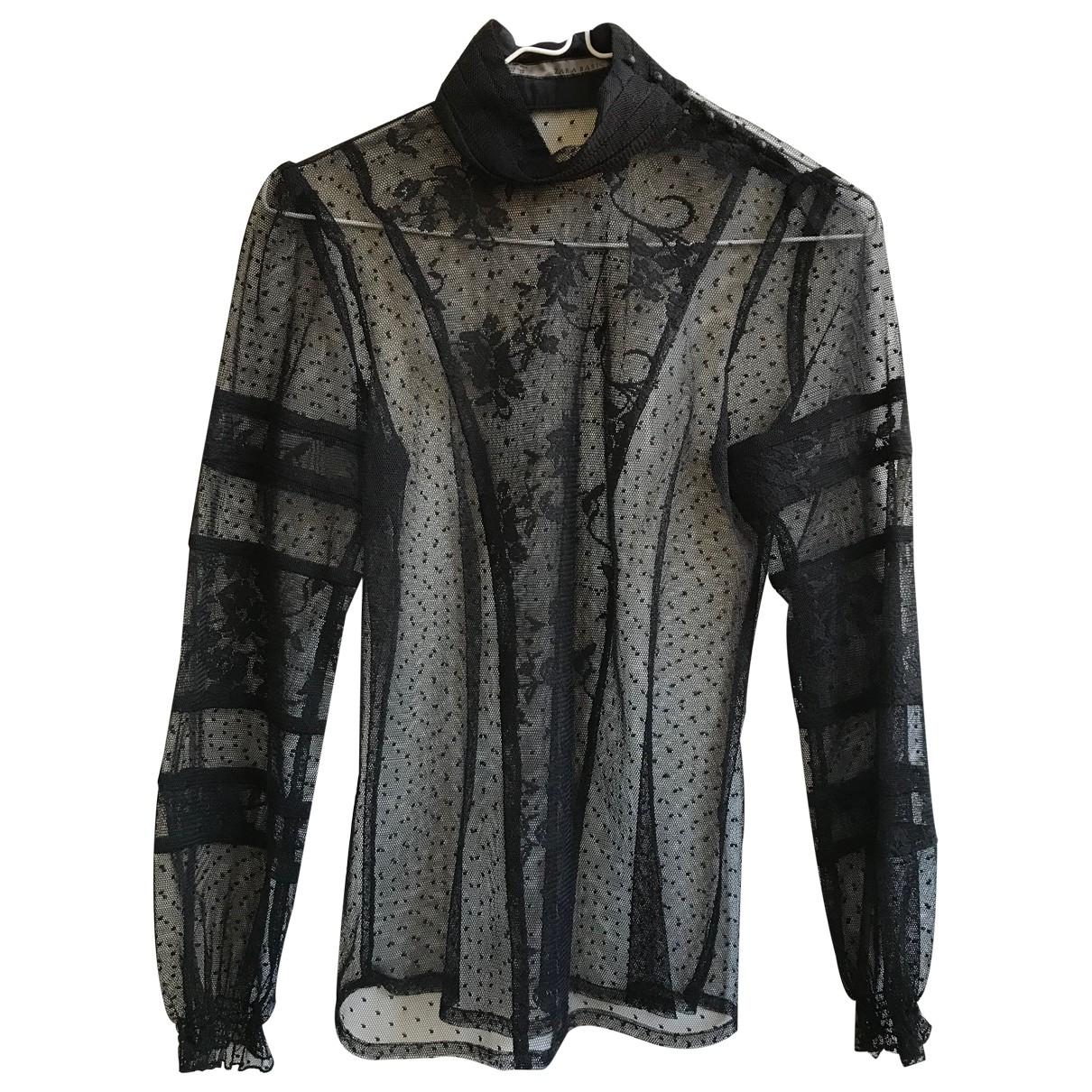 Blusa de Encaje Zara