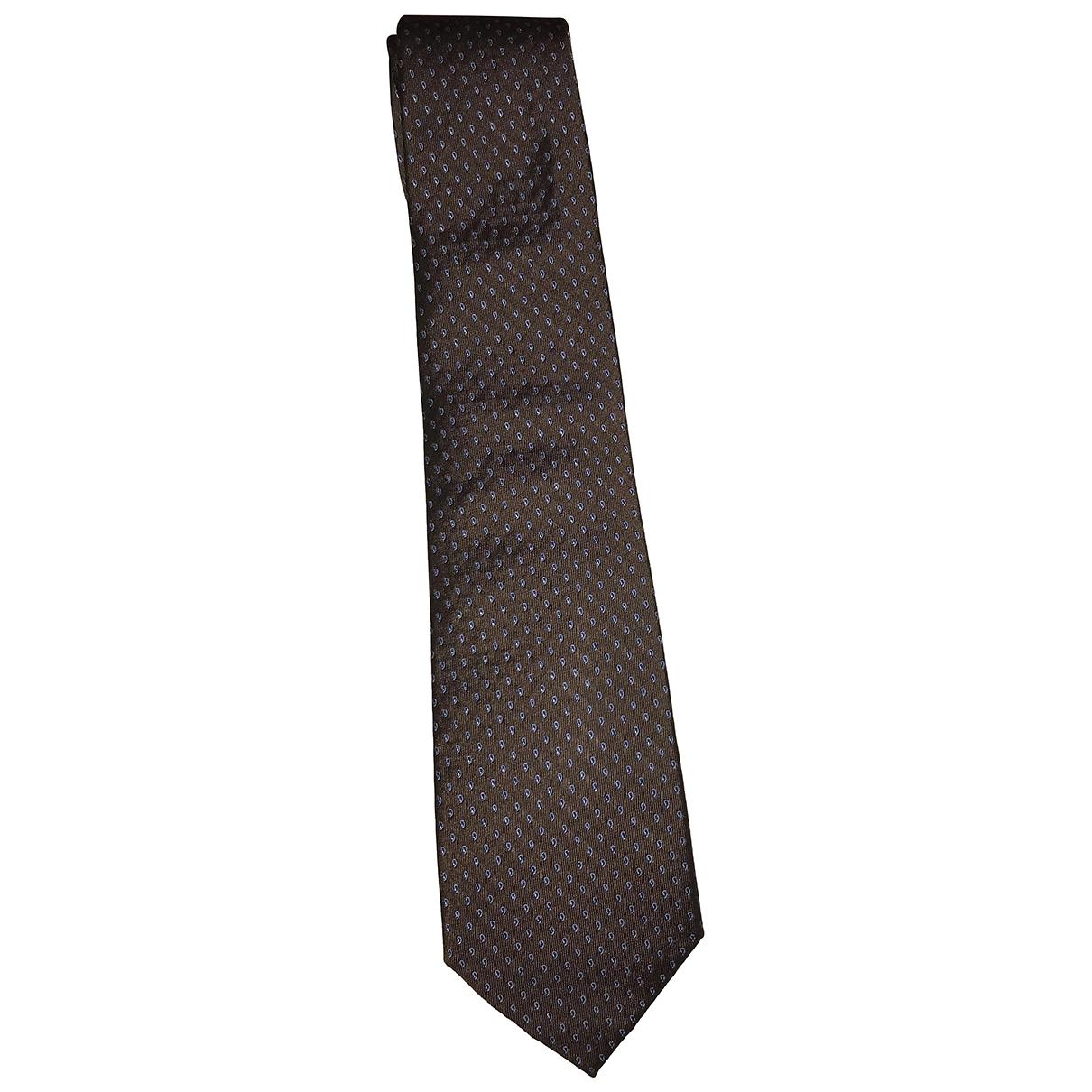 Corneliani - Cravates   pour homme en soie - marron