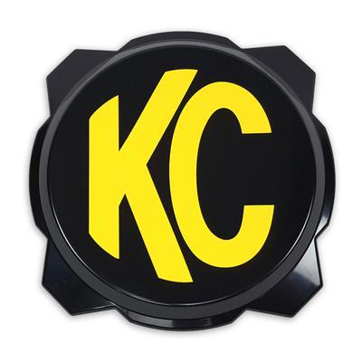 KC HiLites Gravity Pro6 Light Cover, Black - K/C5111