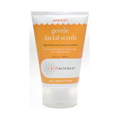 Apricot Gentle Facial Scrub Creme 4 OZ by Earth Science