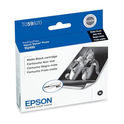 Epson T059820 Original Matte Black Ink Cartridge