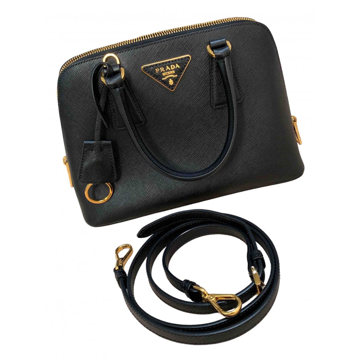 Prada Promenade Black Leather handbag for Women \N