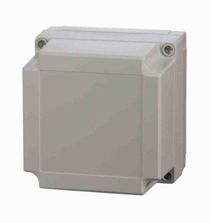 Fibox Light Grey Polycarbonate Enclosure, IP66, IP67, 180 x 130 x 75mm