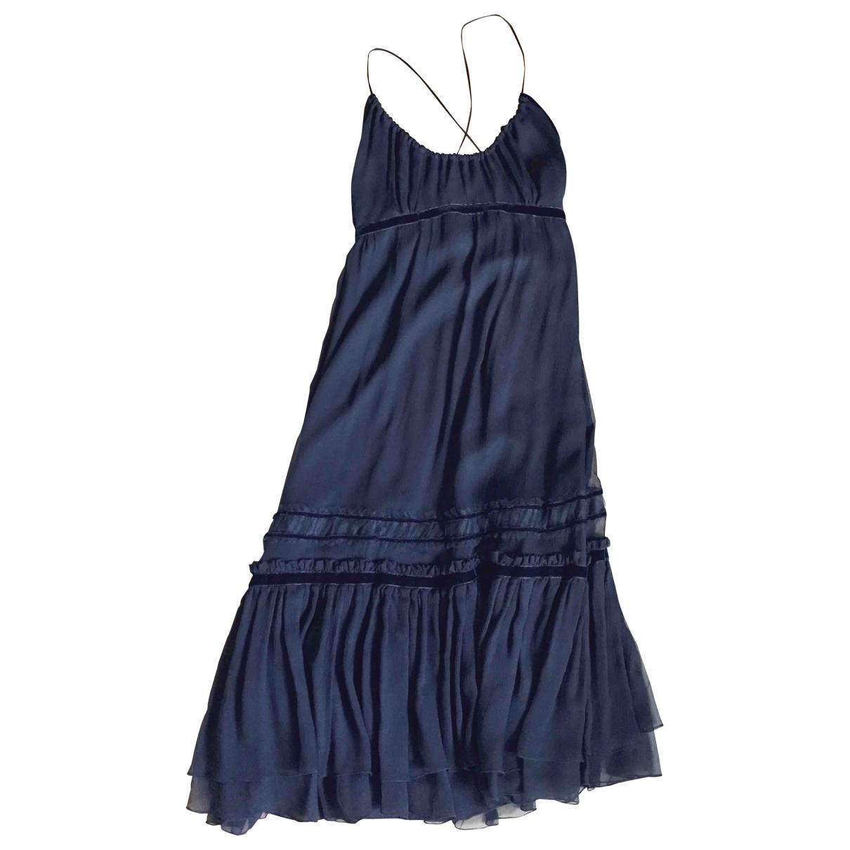 Barneys New York \N Black Silk dress for Women S International