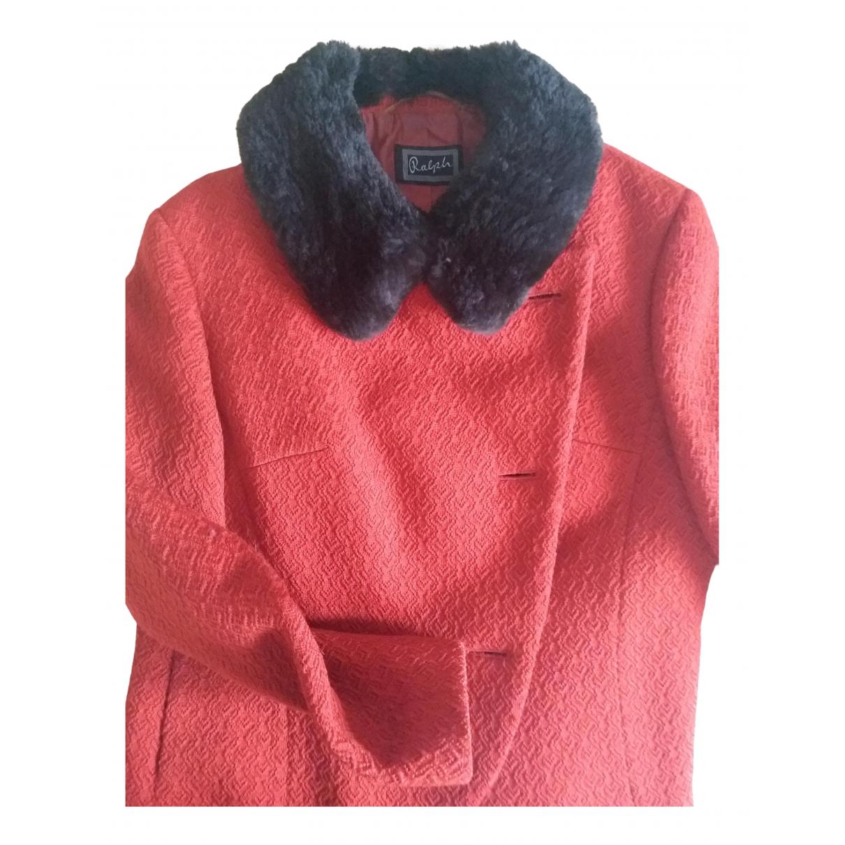 - Veste   pour femme en laine - orange