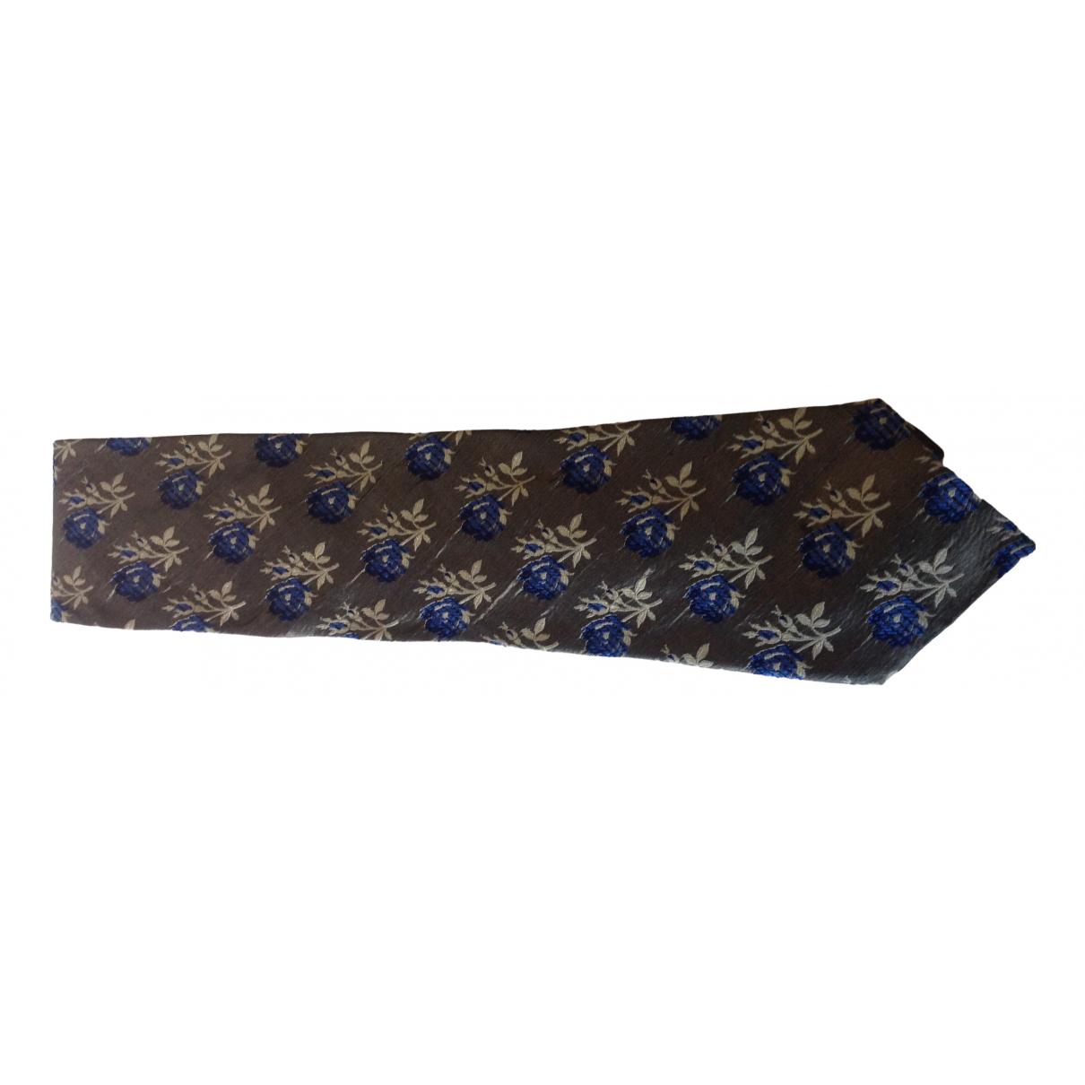 Kenzo - Cravates   pour homme en soie - vert