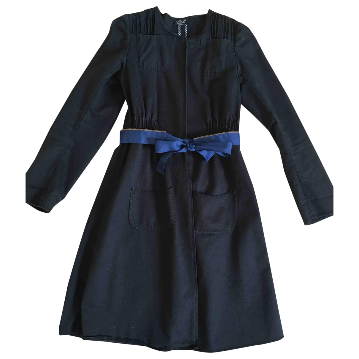 Sonia By Sonia Rykiel - Trench   pour femme en coton - noir