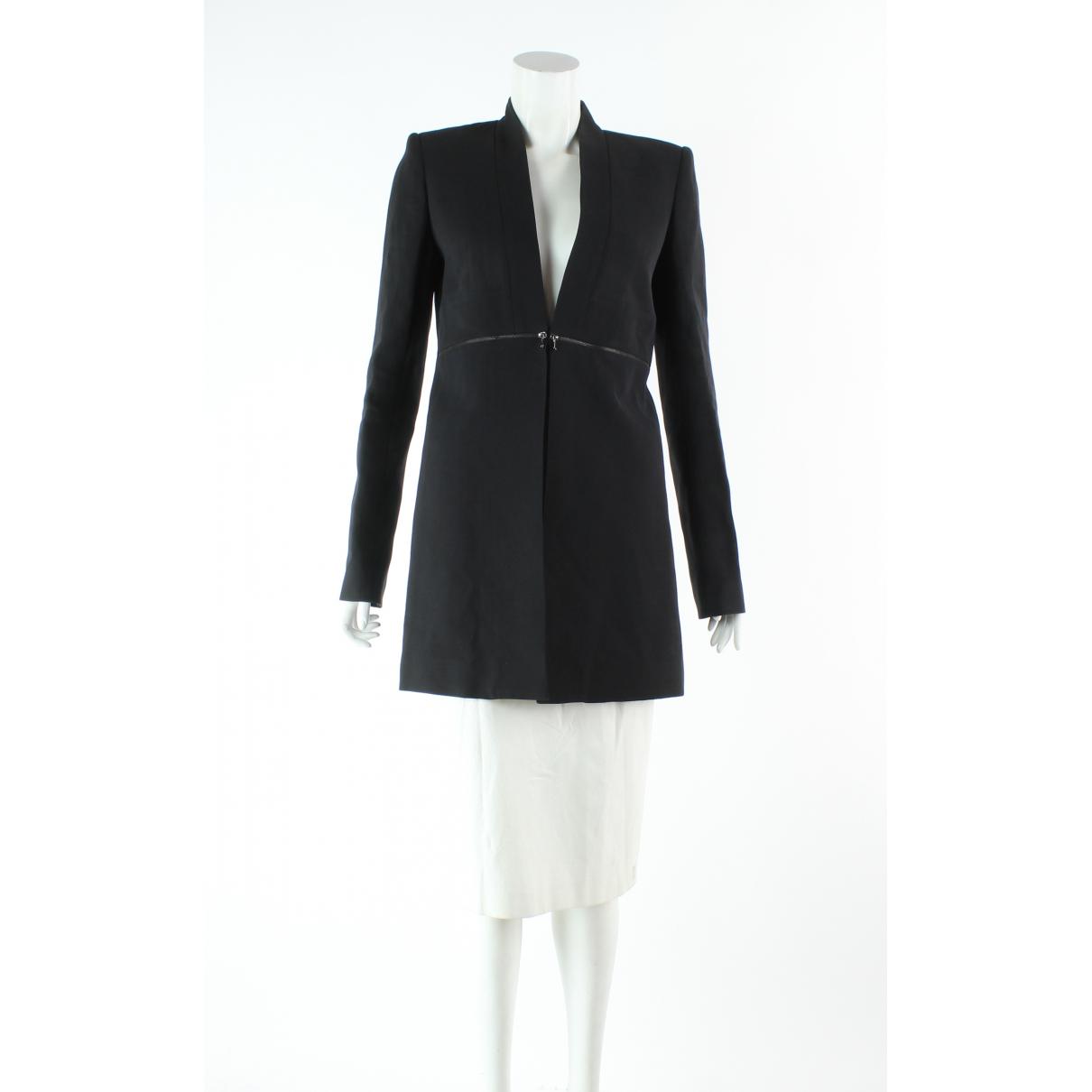Victoria Beckham \N Black Silk jacket for Women 10 US