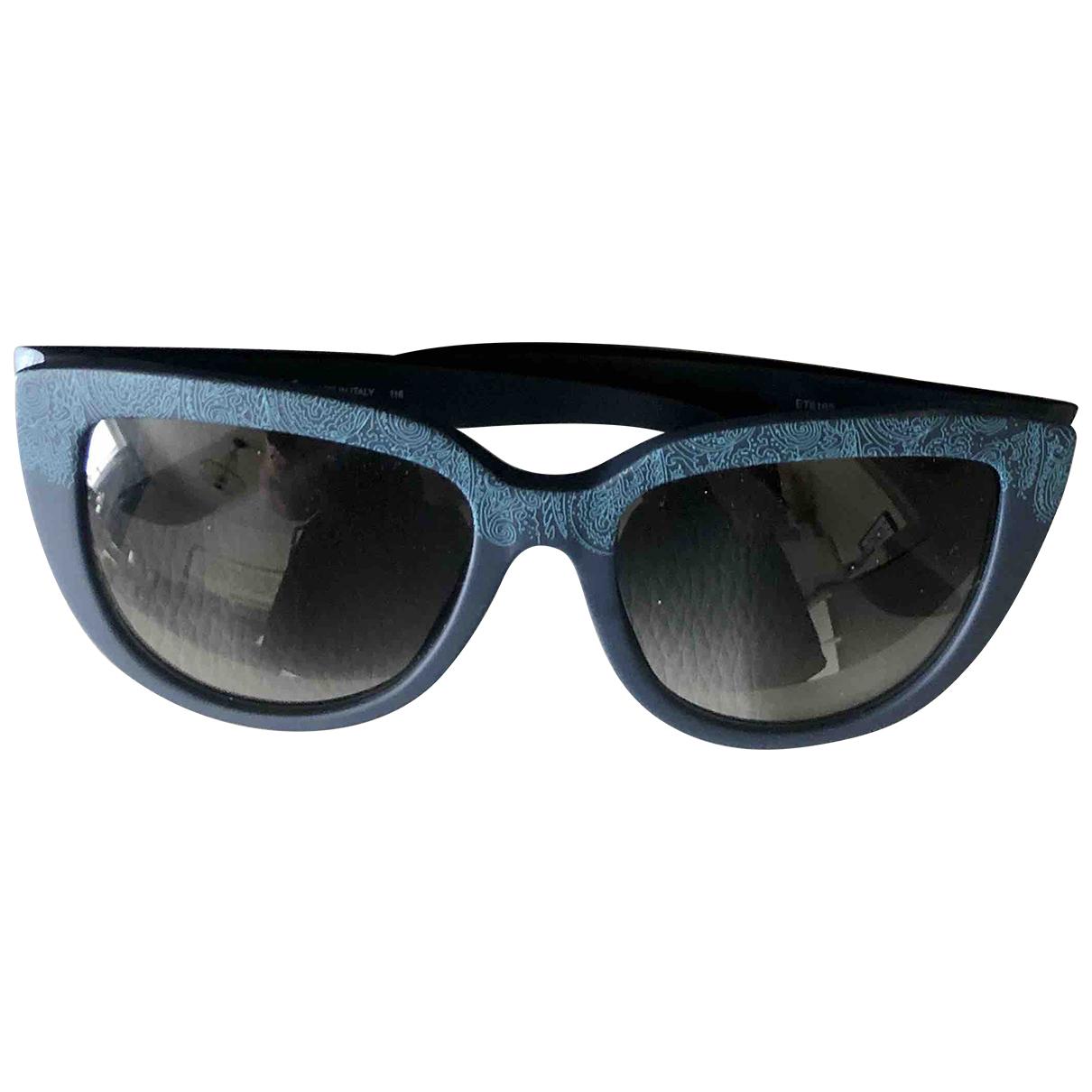 Etro \N Navy Sunglasses for Women \N