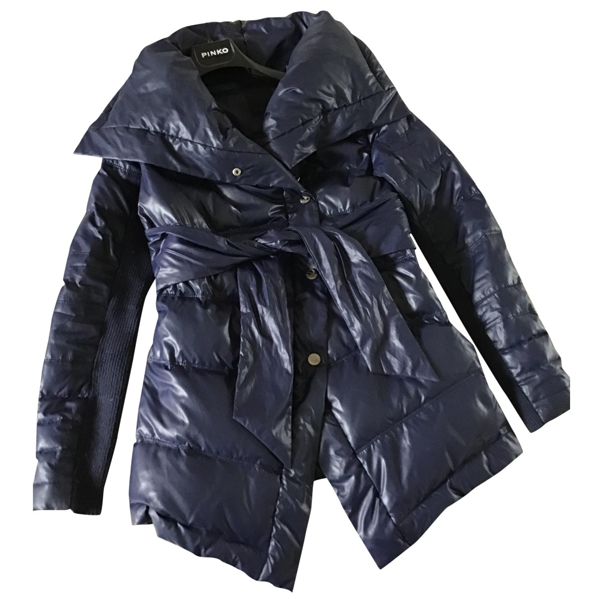 Pinko \N Blue jacket for Women 40 IT