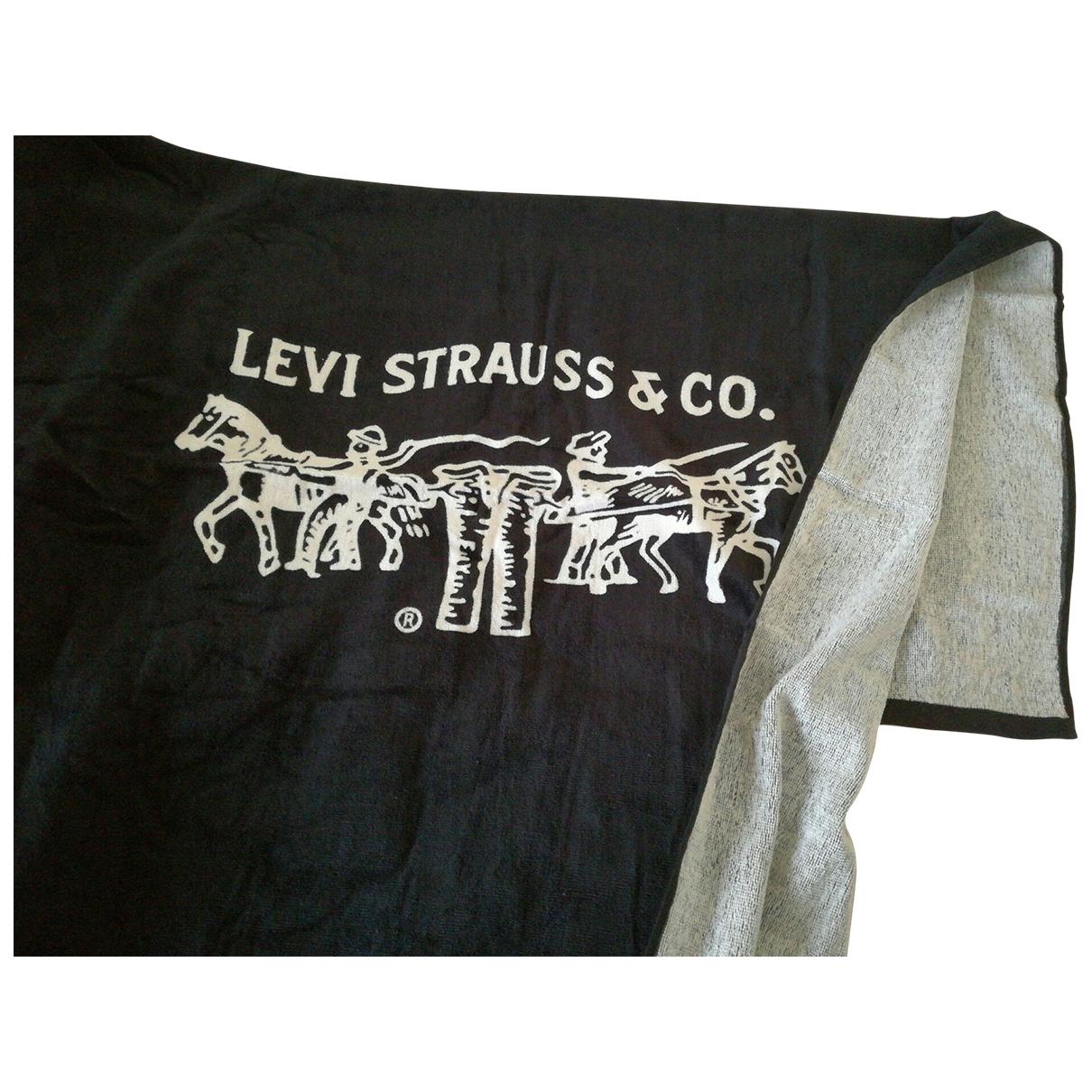 Levis - Linge de maison   pour lifestyle en coton - noir