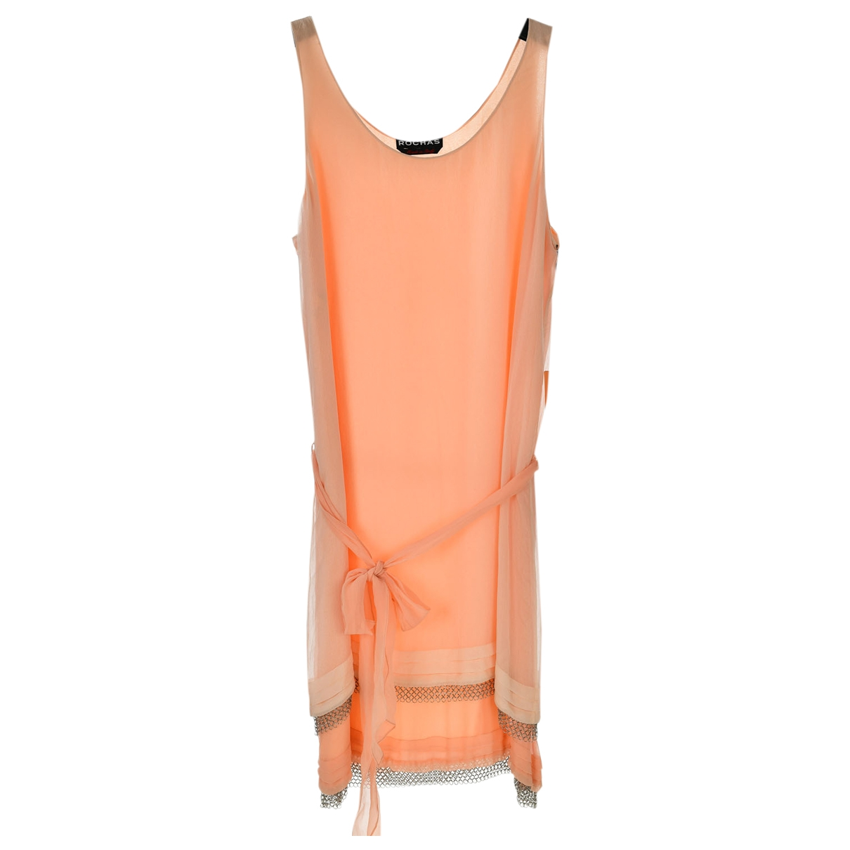 Rochas - Robe   pour femme en soie - rose