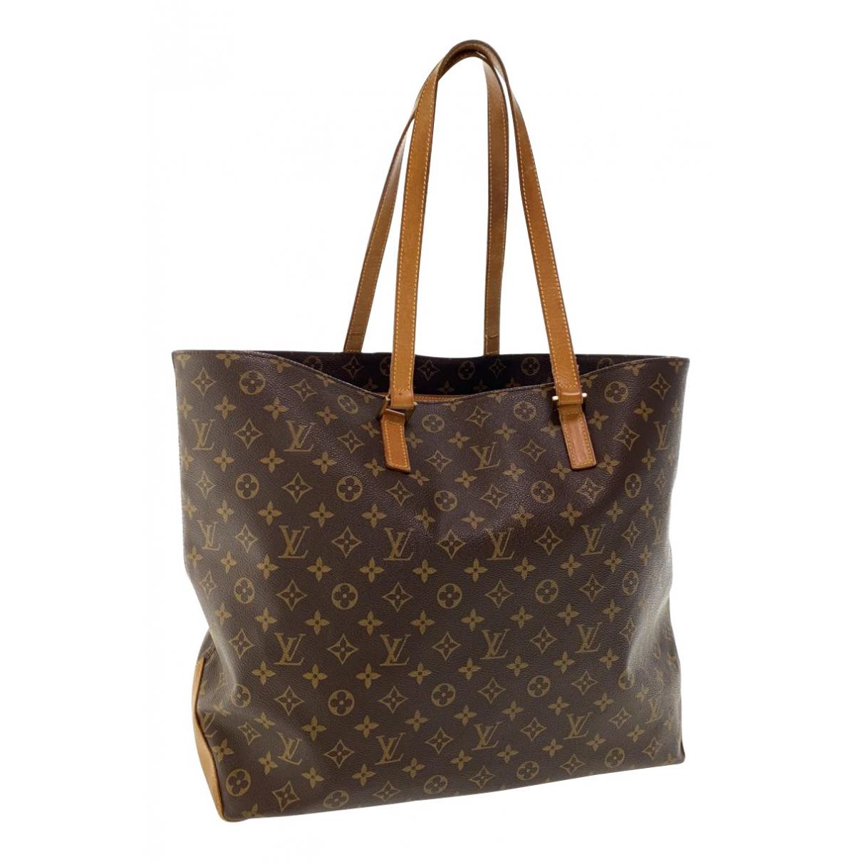 Louis Vuitton Alto Handtasche in  Braun Leinen