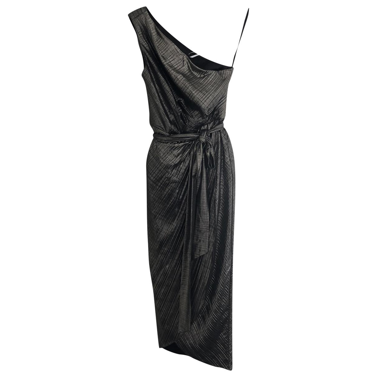 Ted Baker \N Kleid in  Metallic Polyester