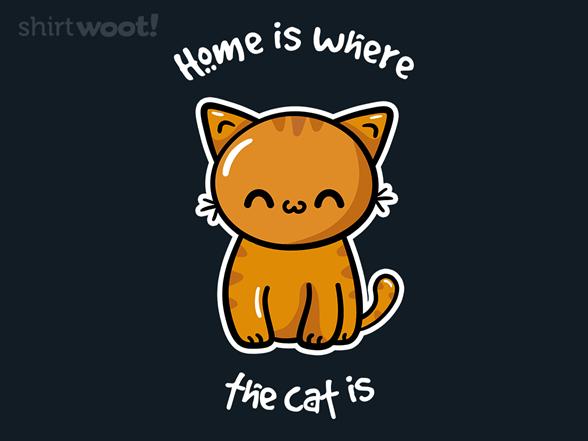 Home Cat T Shirt