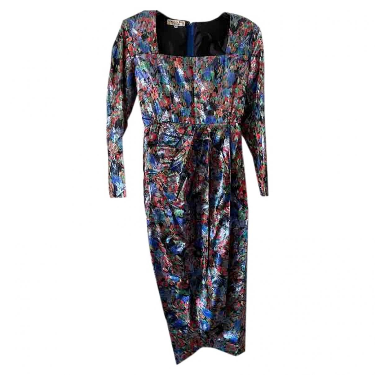 Dior \N Kleid in  Metallic Seide