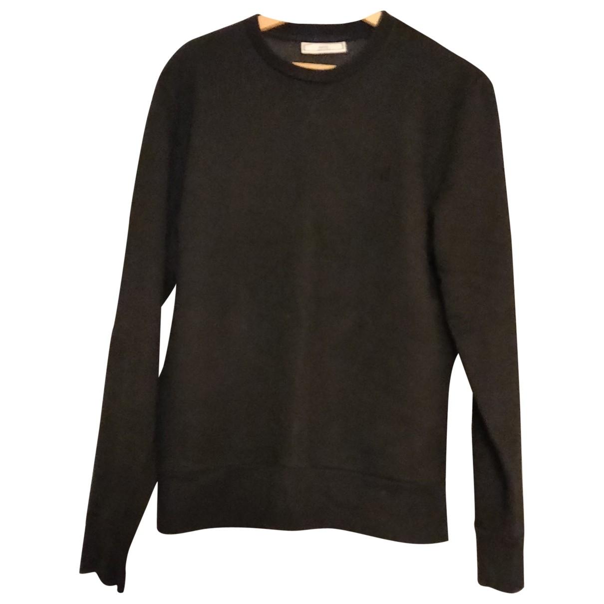 Ami \N Pullover.Westen.Sweatshirts  in  Schwarz Baumwolle