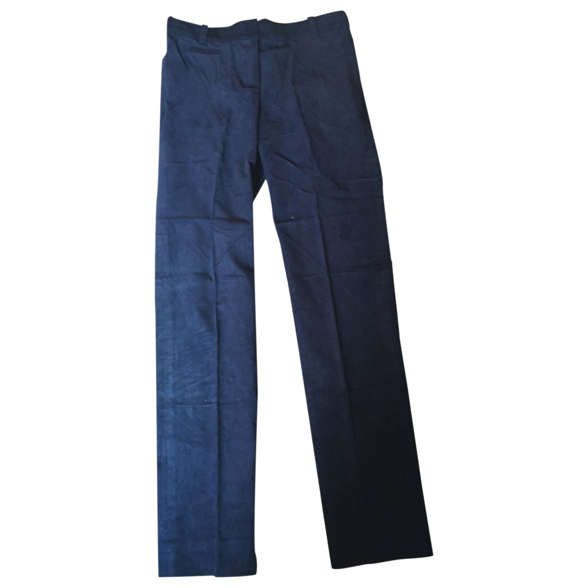 Chloé \N Blue Velvet Trousers for Women 36 FR