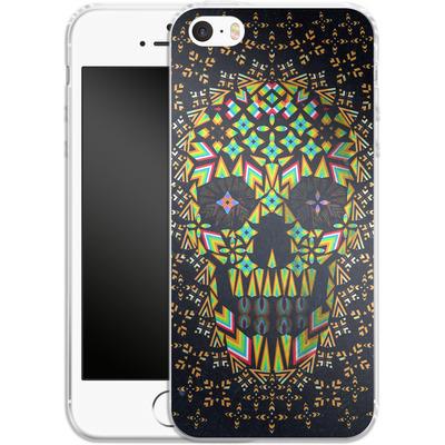 Apple iPhone SE Silikon Handyhuelle - Skull 6 von Ali Gulec