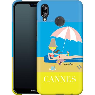Huawei P20 Lite Smartphone Huelle - CANNES TRAVEL POSTER von IRMA
