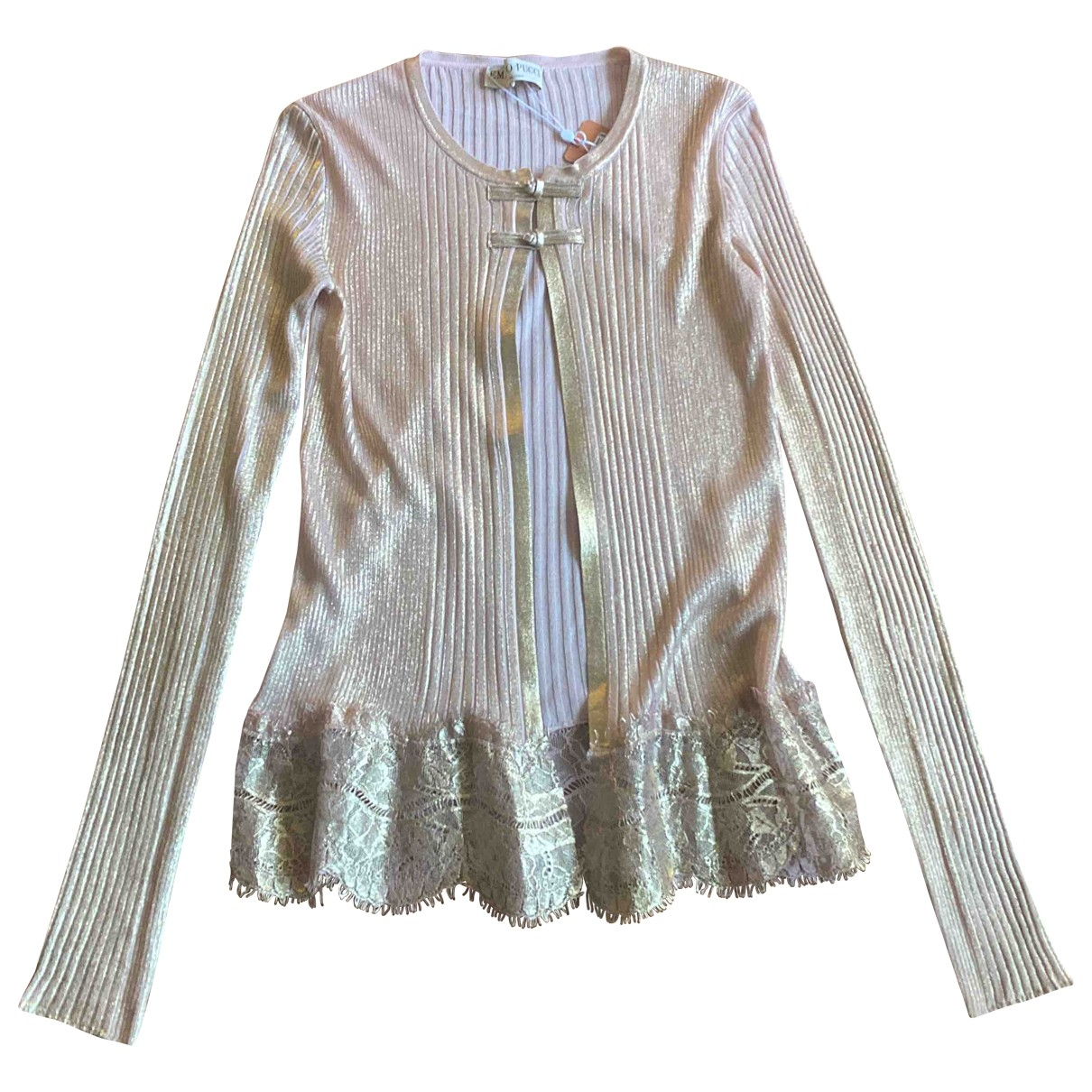 Emilio Pucci \N Pullover in  Rosa Baumwolle